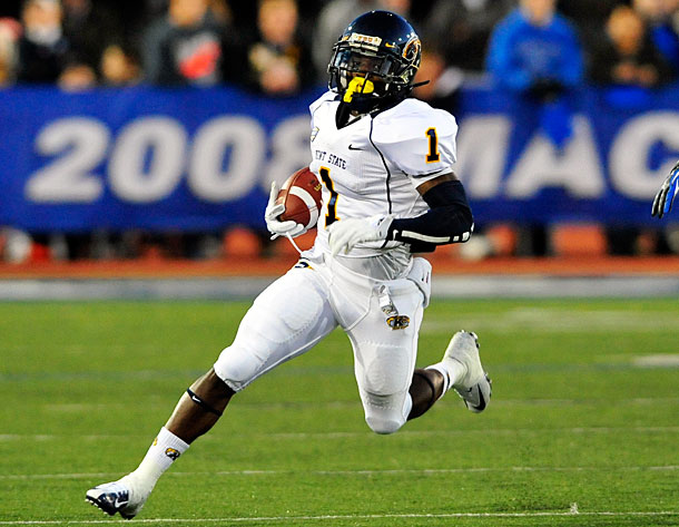 The Pittsburgh Steelers selected RB Dri Archer of Kent State with