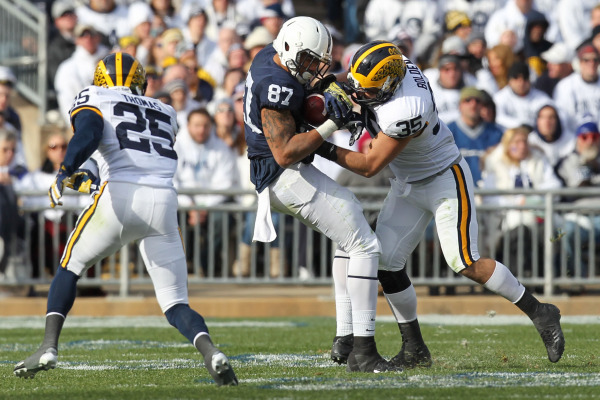 MI Wolverines and Penn State Nittany Lions football game today