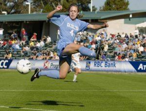 Meghan Klingenberg continued her soccer career at the University of North Carolina (Photo: UNC Athletics)