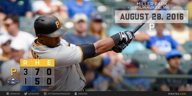 Polanco's 3-run double leads Pirates past Brewers