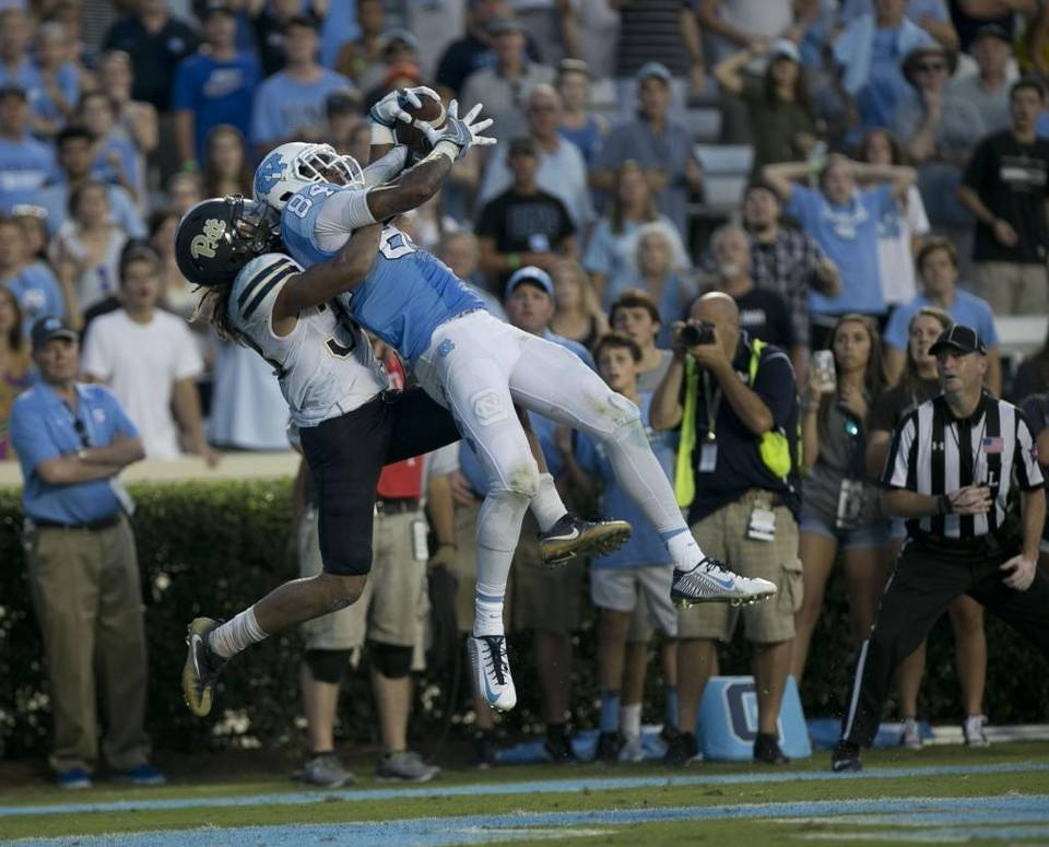 North Carolina beats Pitt on final drive, 37-36