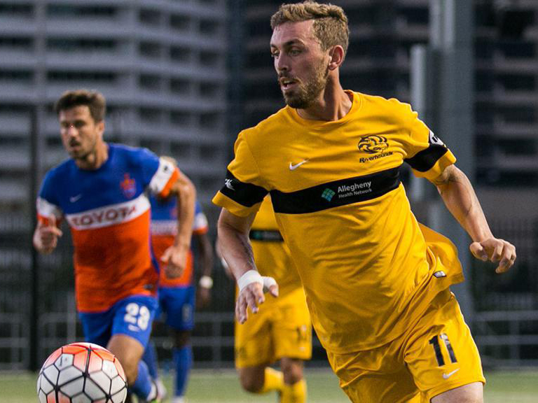 Riverhounds' Corey Hertzog named USL Player of the Week
