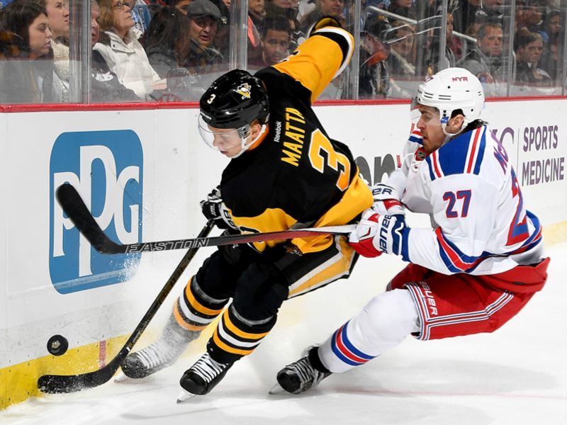 Seven Penguins score in Tuesday night rout of Rangers