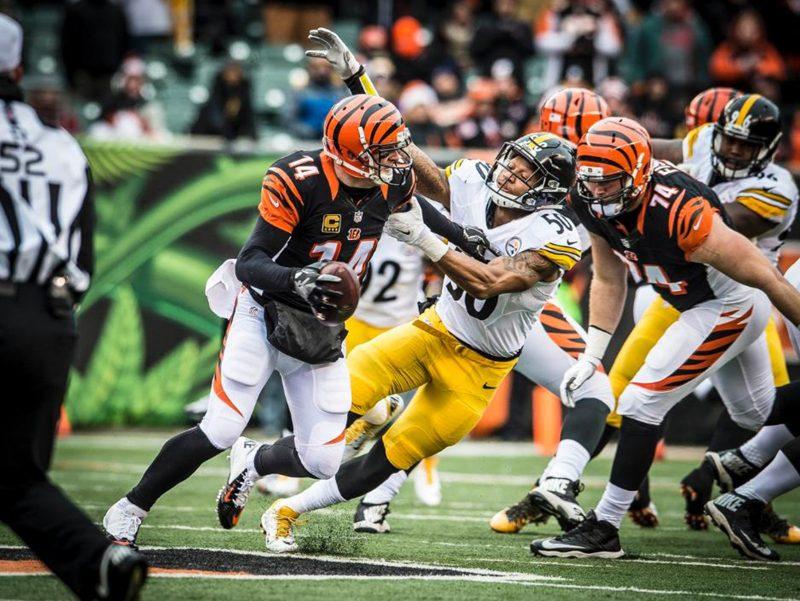 Three up, three down: Steelers vs. Bengals