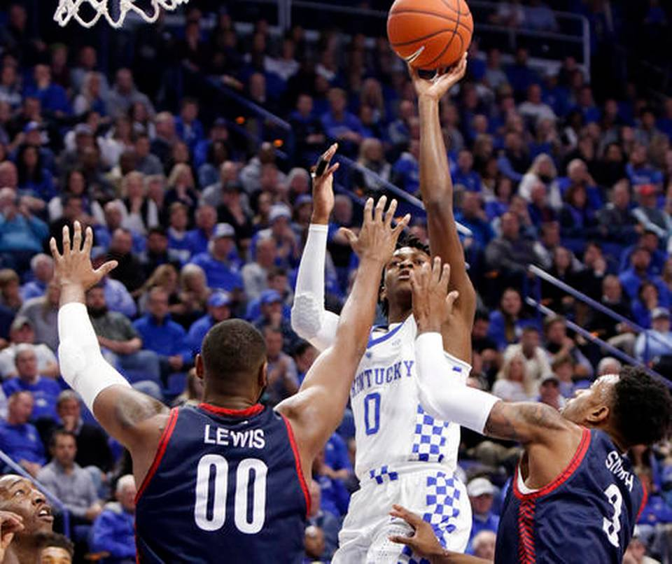 No. 2 Kentucky defeats Duquesne 93-59