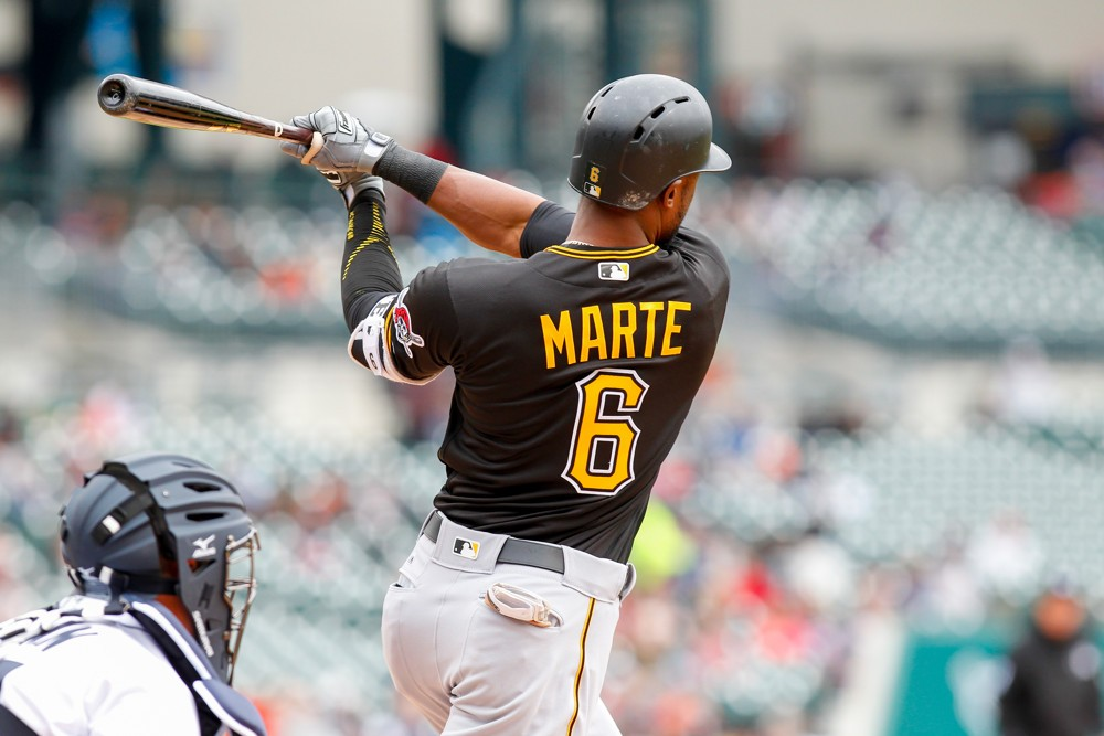 Starling Marte's 11th-inning homer leads Pirates in sweep over Braves