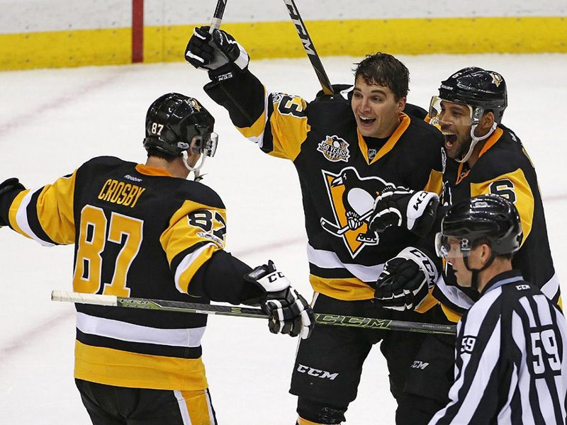 Penguins edge out Capitals in offensive onslaught