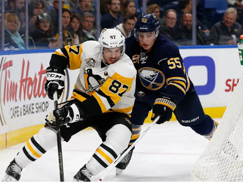 Penguins clinch playoff berth with 3-1 win over Sabres
