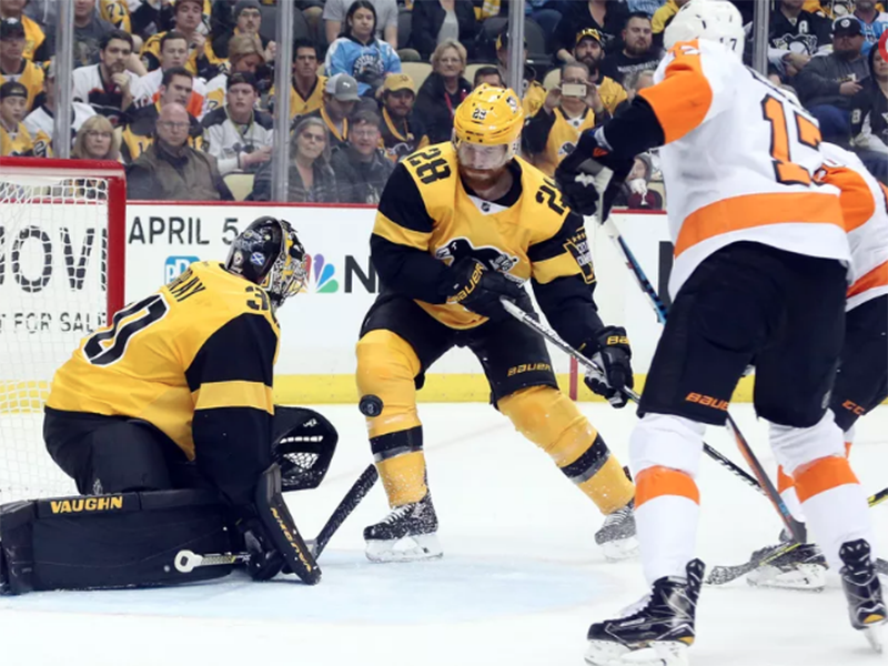 Penguins routed by Flyers, 6-2, for team's third loss in a row